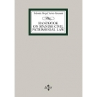 Hand book on spanish Patrimonial LAw
