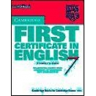 Cambridge First Certificate in English 7 Student's Book (without key)
