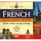 Mastering French (8 audio CDs+DVD Tour of French Cusine and MP3 CD.)