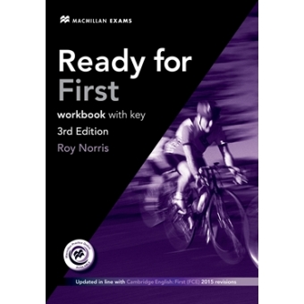Ready for First Workbook with Key and Audio CD (3rd Edition)