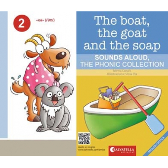 The boat, the goat and the soap - Anglès/català - The Phonic Collection