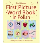 The Usborne First Picture Word Book in Polish