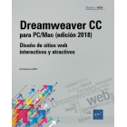 Dreamweaver CC para PC/Mac (2018)