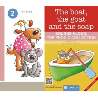 The boat, the goat and the soap - Ingles/español - The Phonic collection