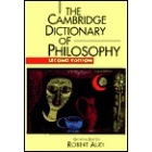 The Cambridge dictionary of philosophy (Second edition)