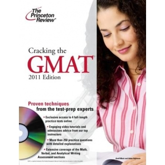 Cracking the GMAT. 2011 Edition with DVD-ROM