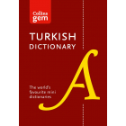 Collins Turkish Gem Dictionary: The world's favourite mini dictionaries (Collins Gem) [Idioma Inglés]
