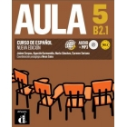 Aula 5 Nueva edición B2.1 Libro del alumno + Audio CD+Mp3