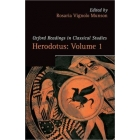 Herodotus, vol. I: Herodotus and the narrative of the past