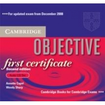 Objective First Certificate Audio CD Set updated edition (2nd. ed.)