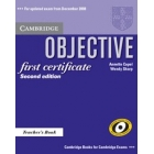 Objectifve First Certificate Teacher's Book updated edition