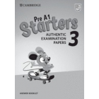 Pre A1 Starters 3 Answer Booklet. Authentic Examination Papers