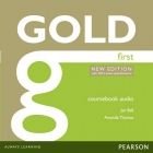 Gold First New Edition Class Audio CDs