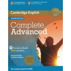 Complete Advanced (Second Edition) Student's Book with answers with CD-ROM