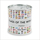 Flags of the world Puzzle magnetico 100 piezas (Banderas)