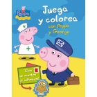 Juega y colorea con Peppa y George