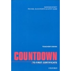 Countdown to First certificate. Teacher's book