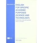 English for specific academic purposes (science and technology)