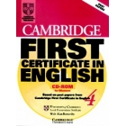 Cambridge First Certificate in English 4. CD-ROM.