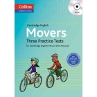 Cambridge English Movers Three Practice Tests for Cambridge English: Movers (YLE Movers) + CD-MP3