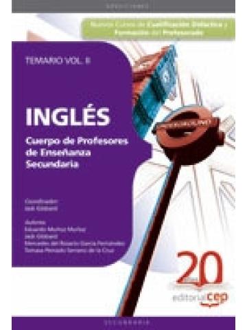 Cuerpo de Profesores de Enseñanza Secundaria. Inglés