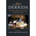 After Derrida: Literature, Theory and Criticism in the 21st Century