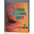 Listening and Speaking Skills 1. Teacher's book