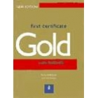 First Certificate Gold. New edition. Exam Maximiser Cassettes
