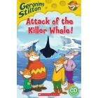 Geronimo Stilton: Attack of the Killer Whale +CD - Level 2 - Popcorn Readers