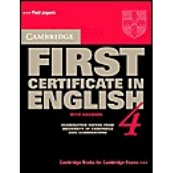 Cambridge First Certificate English  Examination papers 4 (with answers)