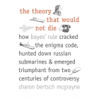 The theory that would not die: how Baye's rule cracked the Enigma code, hunted down russian submarines and emerged triumphant from two Centuries of controversy