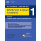 Exam Essentials CAE Cambridge English Advanced Practice Tests 1 with key and DVD-ROM