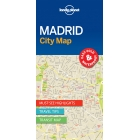 Madrid City Map Lonely Planet