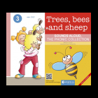 Trees, bees and sheep - Ingles/español - The Phonic collection
