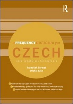 A frequency dictionary of Czech