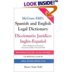 McGraw Hill's Spanish and English Legal Dictionary