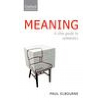 Meaning. A slim guide to semantics