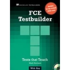 FCE Testbuilder. Student's Book with key and Audio CD's