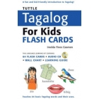 Tuttle Tagalog for kids 64 Flash Cards + Audio CD