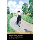3 Short Stories of Sherlock Holmes Book & MP3 Pack: Level 2