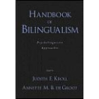 Handbook of bilingualism