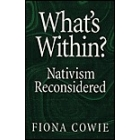 What's within? Nativism reconsidered