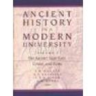Ancient history in a modern university