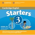 Starters 3 (Camb. Young Learners English Tests) Audio CD