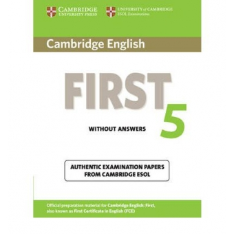 Cambridge English First 5.Student's Book without answers