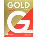 Gold B1 Preliminary New Edition Revised exam from 2020 - Coursebook and MyEnglishLab Pack