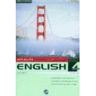 English curso intensivo. 4 CD-Rom. Curso 1, curso 2, vocabulario y gra