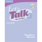 Let's Talk 3 Teacher's Manual with Audio CD Quizzes and Tests