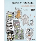Doodlers Anonymous - Coloring Book-