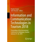 Information and Communication Technologies in Tourism 2018: Proceedings of the International Conference in Joenkoeping, Sweden, January 24-26, 2018